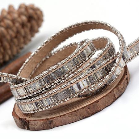 Imitation Leather CordsX-LC-Q010-04C-1