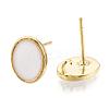 Brass Stud Earring FindingsKK-S345-269C-G-2