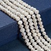 Grade A Natural Cultured Freshwater Pearl Beads StrandsX-SPPA001Y-1-3