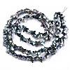 Electroplate Glass Beads StrandsEGLA-N002-05E-2