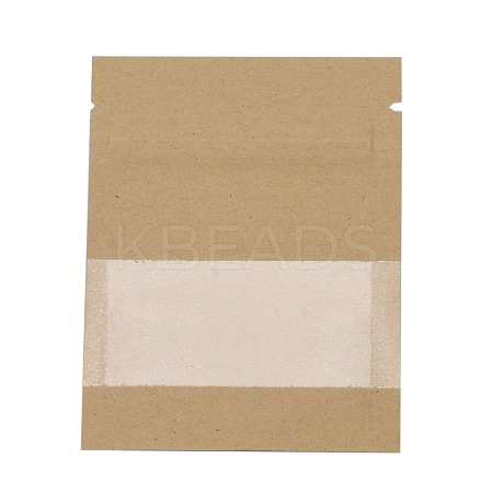 Kraft Paper Open Top Zip Lock Bags OPP-M002-02A-03-1