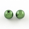 Spray Painted Miracle Acrylic Round Beads X-MACR-Q154-18mm-010-2