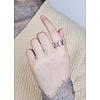 SHEGRACE® 925 Sterling Silver Finger RingsJR596A-02-3