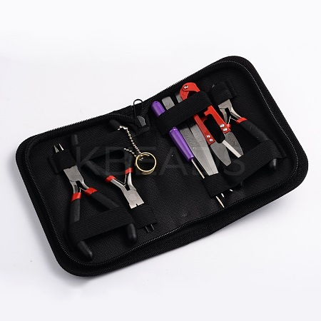 Random Color DIY Jewelry Tool Kits TOOL-S006-03-1
