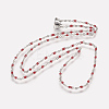 304 Stainless Steel Chain Necklaces NJEW-K099-01A-2