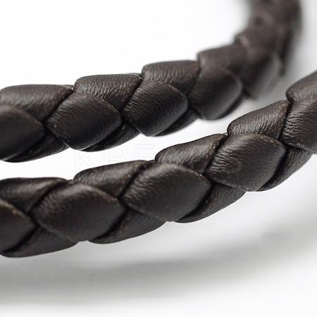 Braided Imitation Leather CordLC-D051-B-07-1
