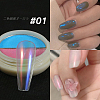 Solid State Two-Tone Color Nail Art PowderMRMJ-T067-12A-1