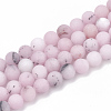 Natural Cherry Blossom Jasper Beads Strands X-G-T106-275-1