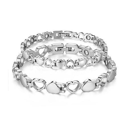 SHEGRACE® Alloy Couple Bracelets JB299A-1
