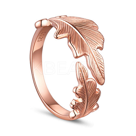 SHEGRACE® Adjustable 925 Sterling Silver Finger RingJR119C-1