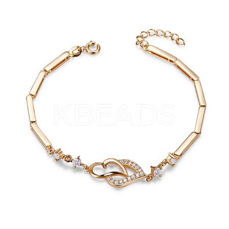 SHEGRACE® Charming Real 18K Gold Plated BraceletJB229A-1