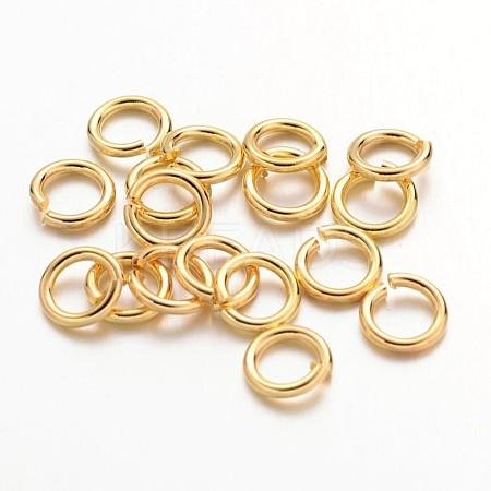 90pcs Golden Color Brass Jump RingsX-JRC6MM-G-1