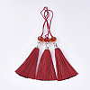Polyester Tassel Big Pendant DecorationsFIND-T055-15-1