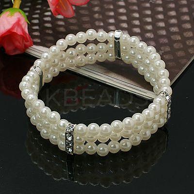 Wedding BraceletsX-BJEW-E041-3-1
