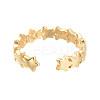 Adjustable Brass Cuff RingsRJEW-M135-04G-3