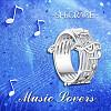 SHEGRACE® 925 Sterling Silver Finger RingsJR596A-02-5