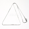 304 Stainless Steel Snake Chains NecklacesX-STAS-F094-24P-2